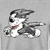 Beardie Power - Bearded Collie - Hund - Männer Pullover