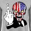 USA skull fuck - Sweat-shirt Homme