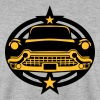 voiture vintage logo 25022 - Sweat-shirt Homme