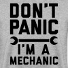 Don't panic i'm a mechanic - Men's Sweatshirt