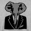 elephant costume cravate business - Sweat-shirt Homme