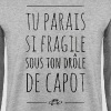 tu parais si fragile-gile - boumbo - best of 90's - Sweat-shirt Homme
