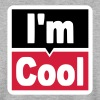 i am cool - Men's Sweatshirt