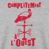 completement a ouest expression - Sweat-shirt Homme