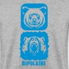 ours bipolaire caractere mechant gentil - Sweat-shirt Homme