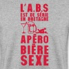 bretagne abs serie apero biere sexe hum - Sweat-shirt Homme