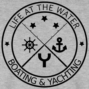 Life at the water - boating and yachting - Men's Sweatshirt