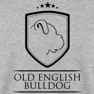 OLD ENGLISH BULLDOG COAT OF ARMS - Men's Sweatshirt