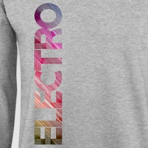 electro vertical / Party Festival Techno EDM Dance - Männer Pullover