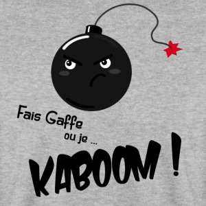 Kaboom! - Mannen sweater