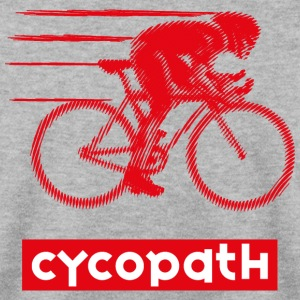 Cycopath for passionate cyclists - Men's Sweatshirt