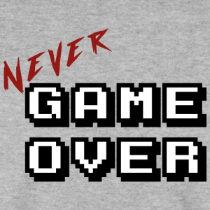 Never game over white - Men's Sweatshirt