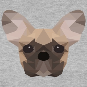 Fransk Bulldog Low Poly - Genser for menn