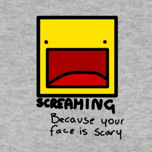 Screaming face - Men's Sweatshirt