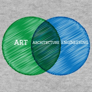 Architect / Architecture: Art, Architecture, - Men's Sweatshirt
