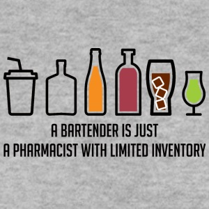 Pharmacy / Pharmacist: A Bartender Is Just A - Men's Sweatshirt