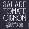 Salade Tomate Oignon - Sweat-shirt Homme
