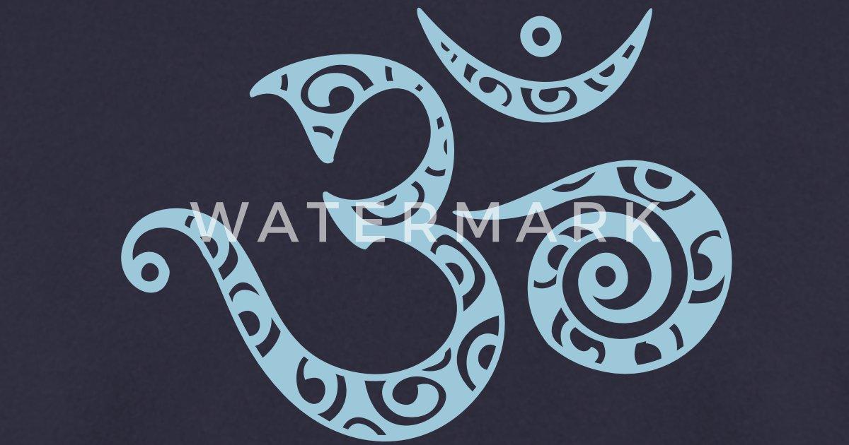 om aum je suis symbole de la force spirituelle de yuma spreadshirt. Black Bedroom Furniture Sets. Home Design Ideas