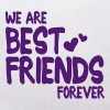 we are best friends forever i 1c - Miś w koszulce