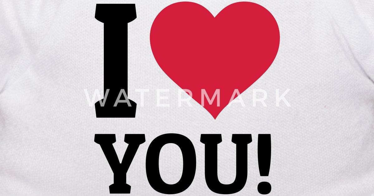 I Love You Ik Hou Van Jou Teddybeer Spreadshirt