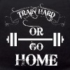 Train Hard Bodybuilding - Teddy