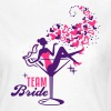 Bride - Braut - Team - JGA - Cocktail - Herz - 2C - T-shirt Femme