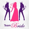 team bride devil angel - T-shirt Femme