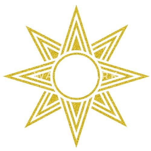 Star Of Ishtar - Venus Star, vector, Symbol of the great ...