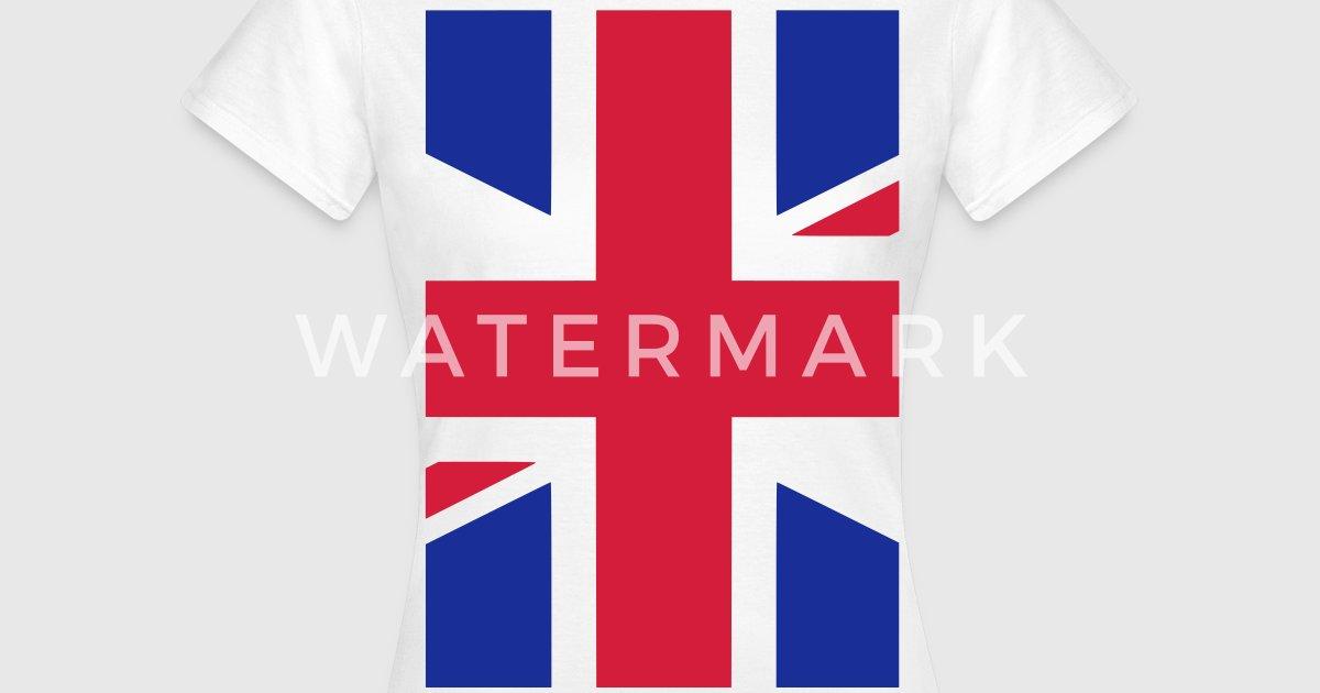 uk england gro britanien flagge t shirt spreadshirt. Black Bedroom Furniture Sets. Home Design Ideas