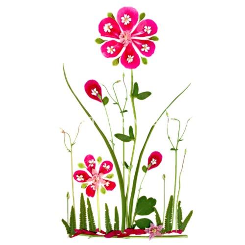 Fantasy Flower Bloem Zomer Verjaardag Natuur Vrouwen T Shirt