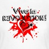 Viva la REVOLUTION, LOVE, Star, Heart, Splash,  - T-shirt Femme