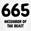 665 The Beast - Humor - Funny - Joke - Friend - Naisten t-paita