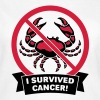 I survived cancer! (2C) - T-shirt Femme