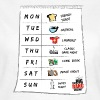 The Big Bang Theory Calendrier de Sheldon Ado Tee  - T-shirt Femme