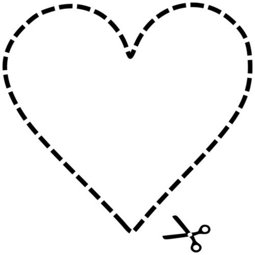 Beliebt Bevorzugt Herz zum Ausschneiden von MissMapel   Spreadshirt #LE_44