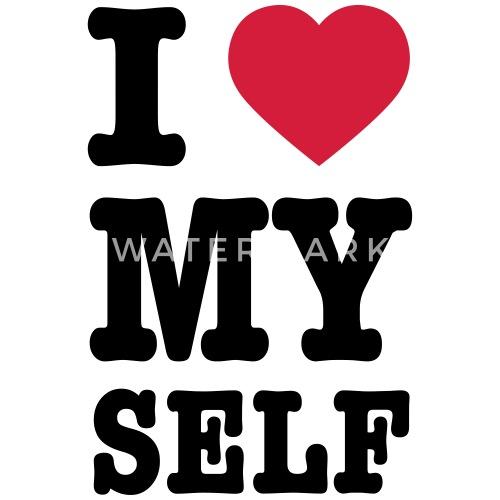 I Love Myself Vrouwen T Shirt Spreadshirt