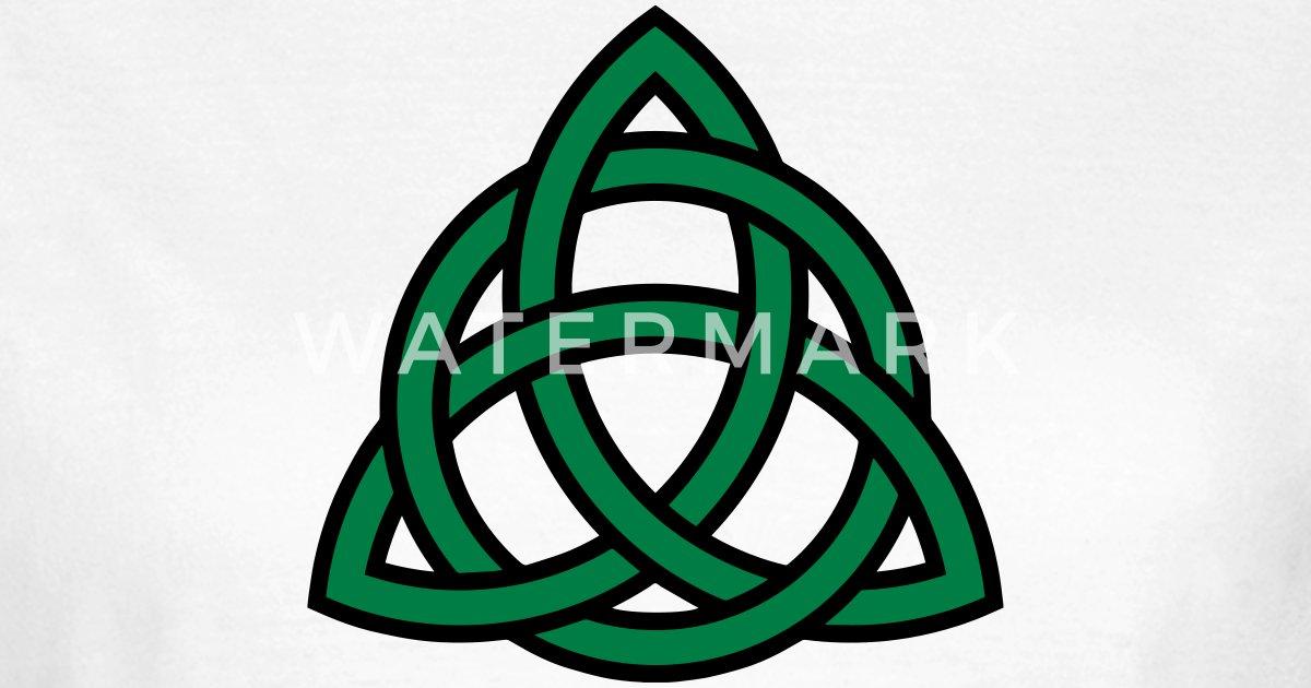 Celtic Knot Triquetra Patricks Day Triangle Circle Van Yuma