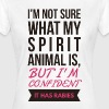 My Spiritual Animal Must have Rabies Fun Design - Women's T-Shirt