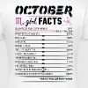 October Girl Facts Scorpio - Women's T-Shirt