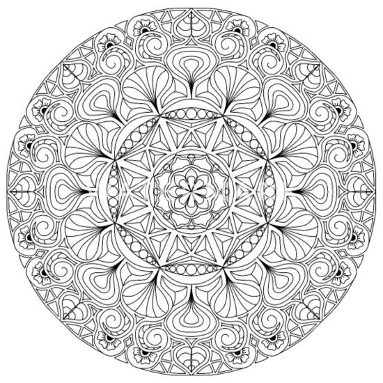 Zum mandala ausmalen frauen Mandala zum
