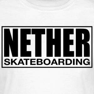 Nether Skateboarding T-shirt Hvid - Dame-T-shirt
