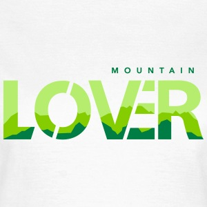 Mountain Lover - Silhouette - Dame-T-shirt