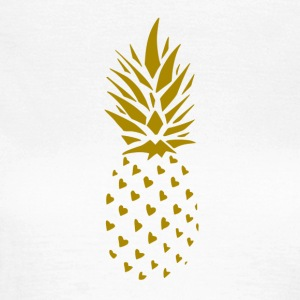 Ananas-Gold- - Frauen T-Shirt