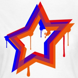 Splat Star - Women's T-Shirt