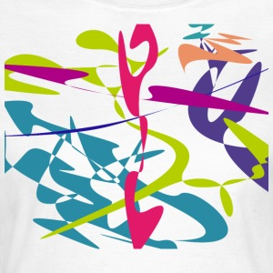 Curved tangram - Women's T-Shirt