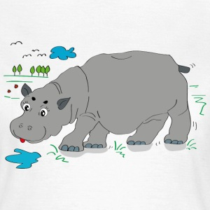 Hippo meadow - Women's T-Shirt