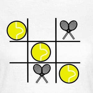 x and o TENNIS - Women's T-Shirt