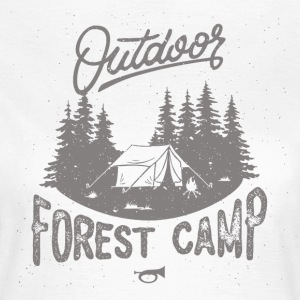 Forest Camp - Vrouwen T-shirt