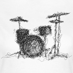 Scribble Batterie - Frauen T-Shirt