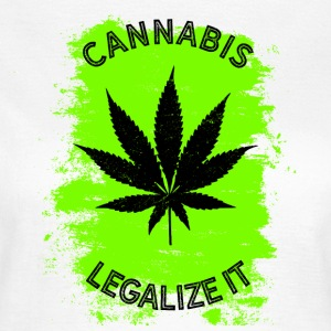 Legalize it Cannabis - Legalisierung Marihuana THC - Frauen T-Shirt